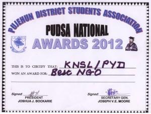 NGO award