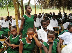 Sekundarschüler/innen bei der Konfliktlotsen-Ausbildung