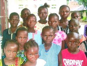 Förderkinder aus dem Jahr 2005