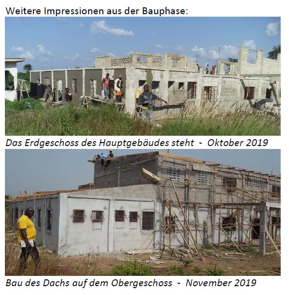 Impressionen aus der Bauphase